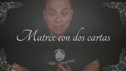 Numismagia Fundamental Vol.1 Cap.11 - Matrix con dos cartas.