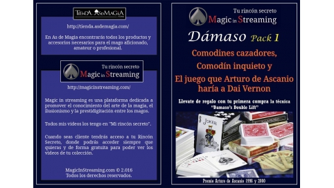 Damaso Pack 1