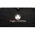 MagicInStreaming camiseta negra