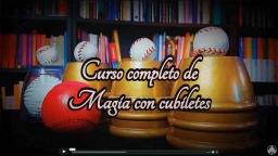 Curso completo de magia con cubiletes